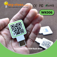 Custom Promotional usb flash drive with colorful printing
