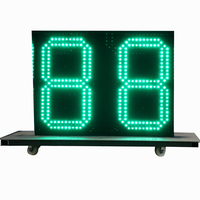 Factory supplier regular gas station led price sign electronic sport timer