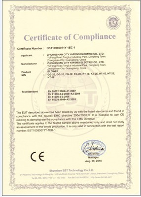 CE certificated Blower