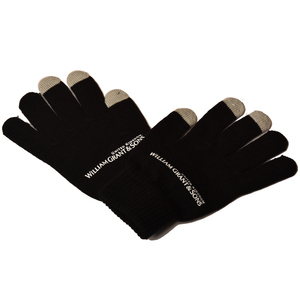 Customized Your Own Logo Acrylic Cell Phone Tactile Texting Winter Touchscreen Gloves Touch Screen Glove For Smartphones