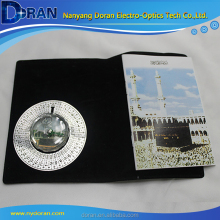 Islamic Travel Qibla Mecca Direction Finder Mat With Compass
