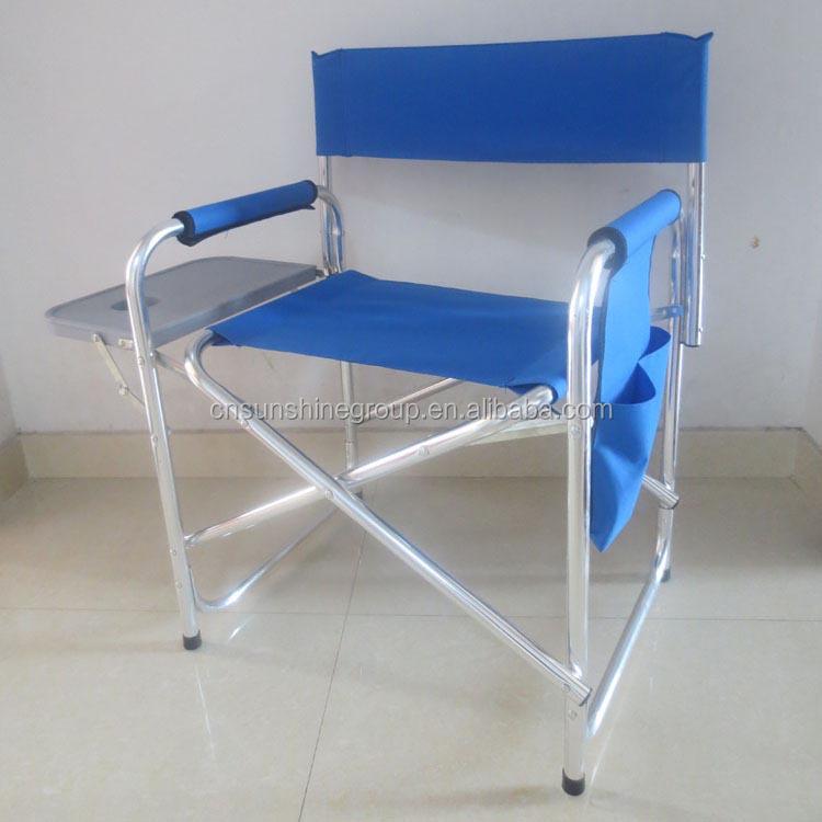 gro handel aluminium stuhl 600d polyester im freien stuhl falten regisseur stuhl klappstuhl. Black Bedroom Furniture Sets. Home Design Ideas
