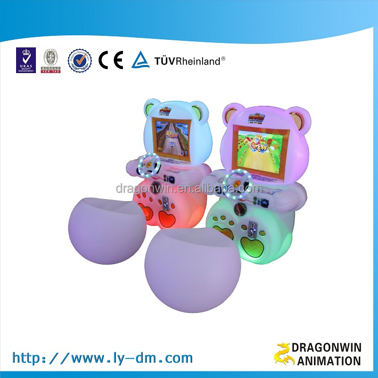 Kid cheap arcade <strong>games</strong> for sale, arcade car racing <strong>game</strong> machine for children