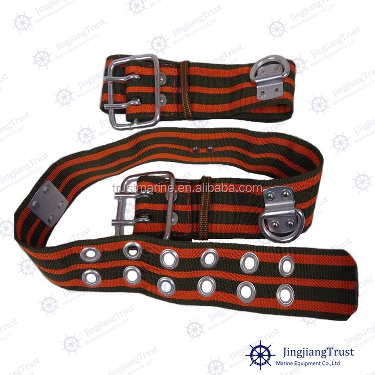 High strength metal firefighter industrial price of safety waist belt