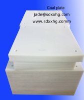 self lubricate UHMWPE coal or sand bunkers