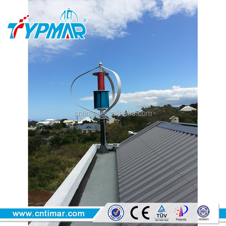 TIMAR small vertical wind turbine for home