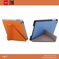 Auto sleep wake up leather case for ipad mini