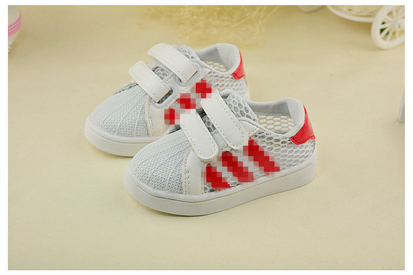 Student School Shoes LED Light 3 Colors Shoes For Kids