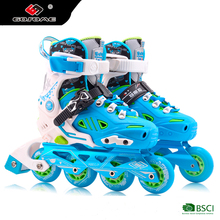 GOSOME GX-1601 new model kids flat roller skate shoes with colorful printing for sell