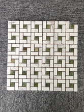 10x10 crystal steel glass stone mix bathroon kitchen mosaic tiles