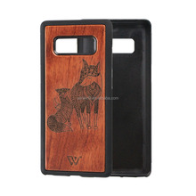 Solid Wooden Phones Case for Samsung Galaxy S8, Phone Case Cell Phones Mobile Accessories, Hard Phone Case for Samsung Note 8