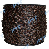 electric plastic fencing of twisted rope for farming fence