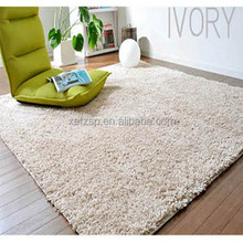 Polyester shaggy luxury living room baby carpet