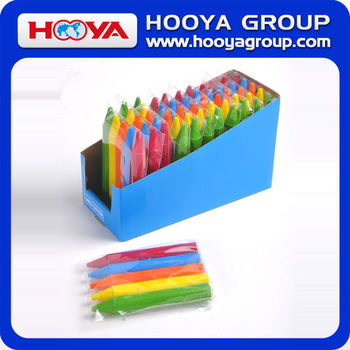 1.4*9.5cm 5 colors Custom Eco-friendly Crayon