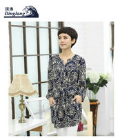 2014 fashion office ladies loose formal plus size xxl xxx arabic women clothing blouse for middle-aged women