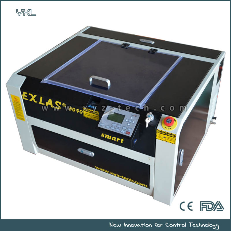 Mini CO2 Laser engraving machine EXLAS Smart-3040