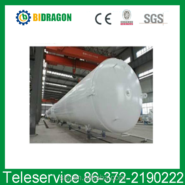 Low price liquid nitrogen cryogenic storage tank