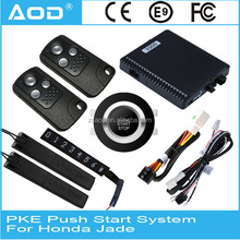 Product promotional car alarm system push start system with control model with for Honda Jade