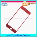 Competitive Price Anti-fingerprint Red Tempered Glass for iPhone 6S Plus, for iPhone 6S Plus Screen Protector
