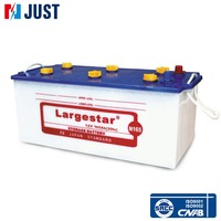 12V Dry Cell Car Battery with Starting Lead Acid JIS Series N165 165Ah