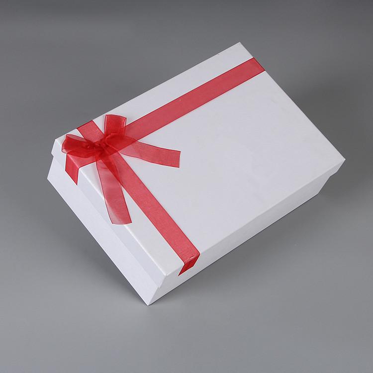 white color gift box