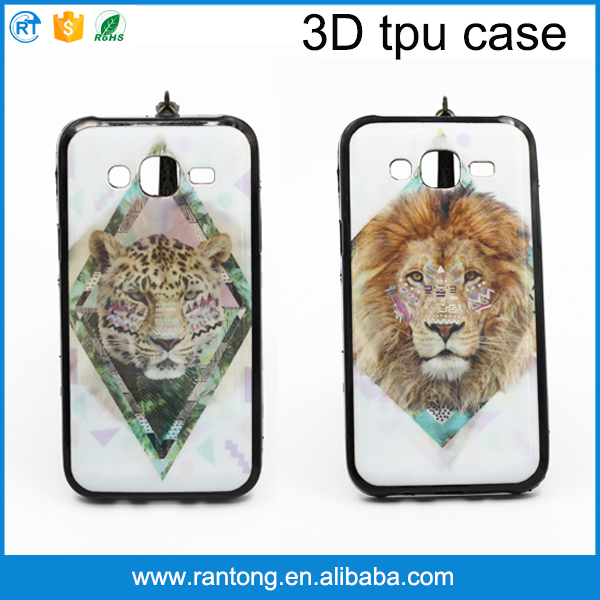 Wholesale 3D tpu color change cell phone case for samsung J5
