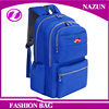 2016 new trendy designer custom-made fashion lady nice fashionable dark blue solid color school backpack bags