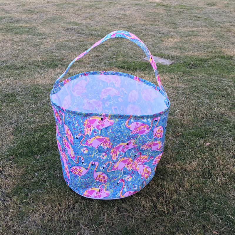 Rose Easter Buckets LLY Flamingo Boho Gift Candy and Egg Buckets tote Free Shipping Via <strong>FedEx</strong> DOM106432