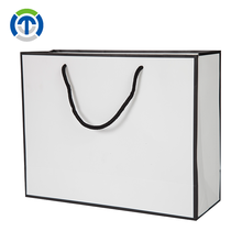 Tongxin Bulk Buying Customized Printed Personalized Luxury White Paper Gift Bags With Handles