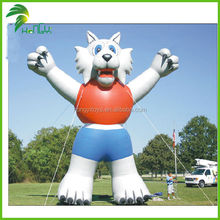 High Quality &Great Inflatable Moving Animal Wolf