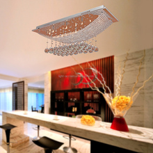 K9 Top quality indoor lighting LED crystal chandelier lamp