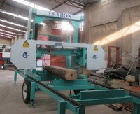 Horizontal Band Sawmill Wood Band Saw Horizontal Log Cutting Band Sawing