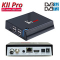 Videostrong original factory kii pro dvb t2 dvb s2 android tv box