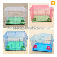 high quality decorative steel wire mesh metal bird cage