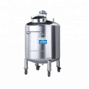 Double Jacketed Syrups Mixing Tank