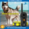 Electronic Collar With Remote Control Dog Training Collars With Lcd Display Electric Shock No Bark Control Collar