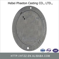 Professional Factory OEM Cast Iron Manhole Cover Price