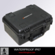 Rugged Hard plastic carrying equipment case with foam/Waterproof carrying case HTC014