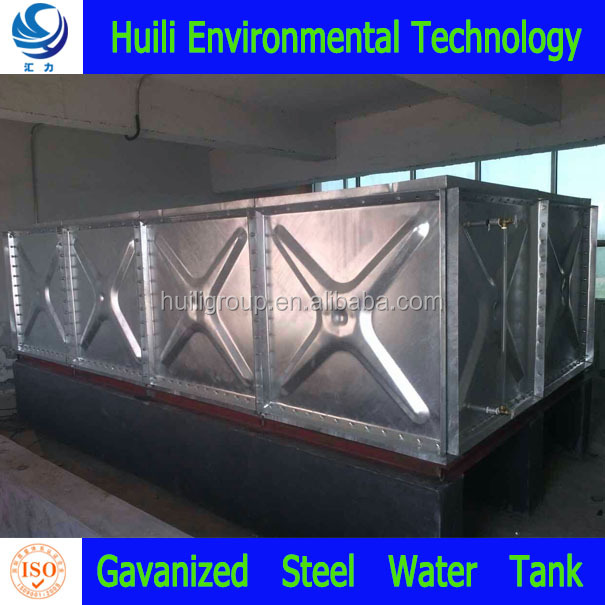 bolted galvanized steel water storage tanks