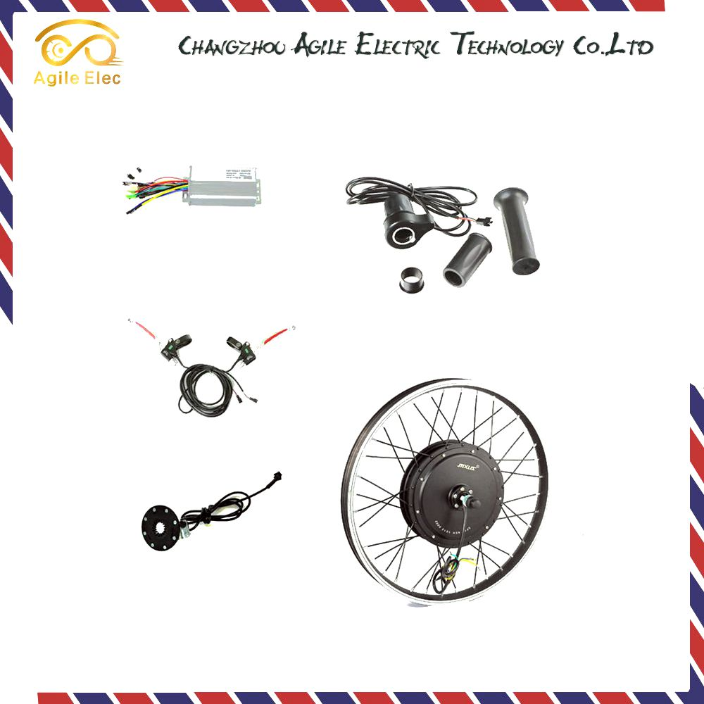 Economy 48v 500w electric bicycle convertion kit with best service