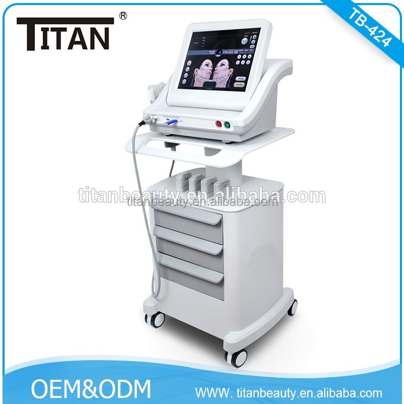 TB-424 High intensity focused ultrasound system 2017 hifu mini 5 cartridges for face and body