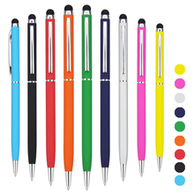 high quality soft touch rubber pen with logo custom