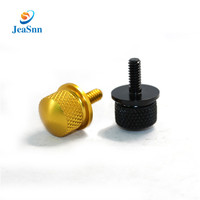 Factory OEM aluminum brass knurled thumb screw,shouldered thumb screw