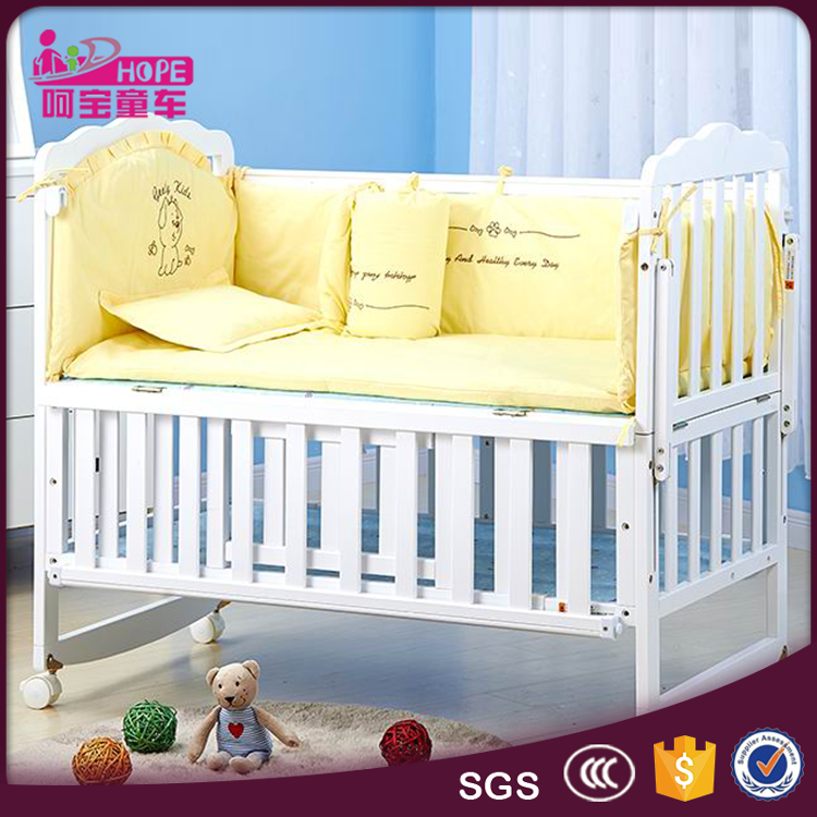 2017 New Nursery Furniture Sets/Wooden Baby Crib/Bed