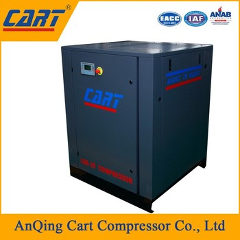 Factory direct sale belt driven screw air compressor for small to medium capacity