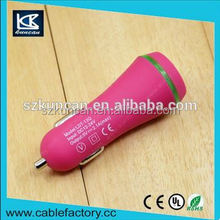 Alibaba china output 5V input 12~24V dual usb 4a car charger