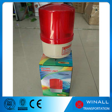 Road construction rotating warning lamp led beacon alarm buzzer light