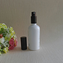 Custom painting essential oil packaging white 100ml dropper bottle in box