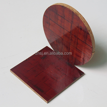 Strand woven bamboo plywood with phenolic film faced bamboo plywood
