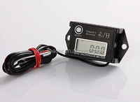 Resettable Inductive Waterproof rmp meter Tacho Hour Meter Digital hour meter for gas engine